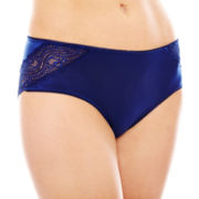 Ambrielle® Tummy-Smoothing Hipster Panties