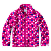 Columbia® Benton Springs™ Full-Zip Print Fleece Jacket - Girls 4-18