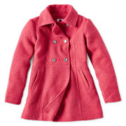 Total Girl® Midweight Pea Coat - Girls Plus