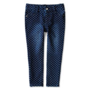 Arizona Polka Dot Jeggings - Girls 2t-6