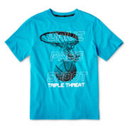 Xersion™ Short-Sleeve Graphic Knit Tee – Boys 8-20