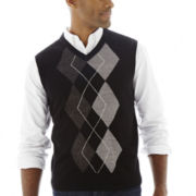 Dockers® Acrylic Argyle Sweater Vest
