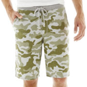 Arizona Printed Fleece Shorts
