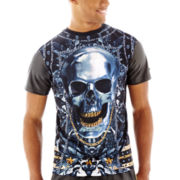 akademiks® Skull Sublimation Tee