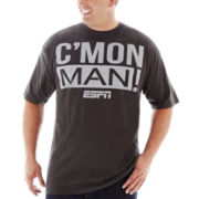 ESPN Come On Man Graphic Tee–Big & Tall