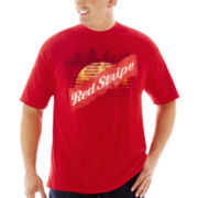 Red Stripe™ Graphic Tee–Big & Tall