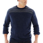 Dockers® Fair Isle Crewneck Sweater–Big & Tall