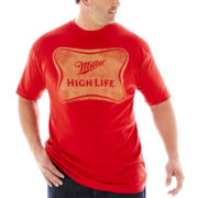 Miller® High Life Logo Tee–Big & Tall