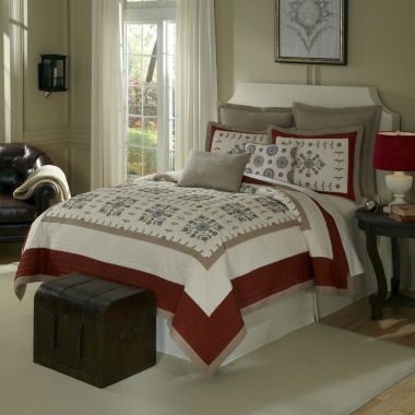 jcpenney.com | Bukhara Medallion Quilt & Accessories