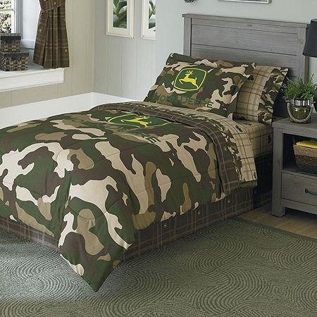 John Deere Camo Reversible Comforter