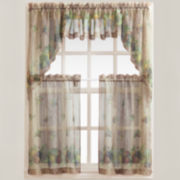 Autumn Rod-Pocket Kitchen Curtains