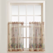 Autumn Rod-Pocket Window Tiers