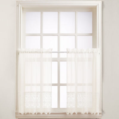 Joy Rod-Pocket Window Tiers