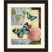 Butterfly Carrier II Framed Wall Art