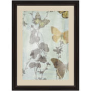 Butterfly Haze I Framed Wall Art
