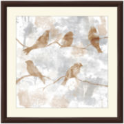 Birds on a Branch II Framed Wall Art