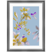 Watercolor Flowers I Framed Wall Art