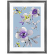 Watercolor Flowers II Framed Wall Art