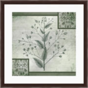 Leafy Greens II Framed Wall Art