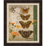 Butterfl-Eye II Framed Wall Art