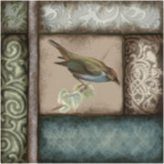 Painted Bird II Canvas Wall Art