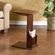 Montgomery C-Shape Magazine Table