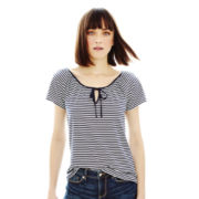 Joe Fresh™ Short-Sleeve Peasant Tee