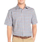 Arrow® Short-Sleeve Corded Plaid Shirt