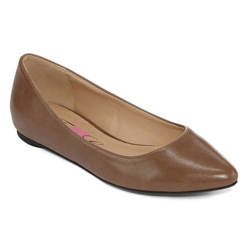 First Love By Penny Loves Kenny Andy-Fl Pointed-Toe Flats