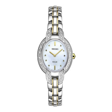 jcpenney.com | Seiko Womens Two Tone Bracelet Watch-Sup325