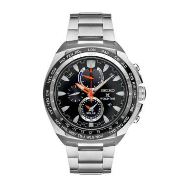 jcpenney.com | Seiko Mens Silver Tone Bracelet Watch-Ssc487