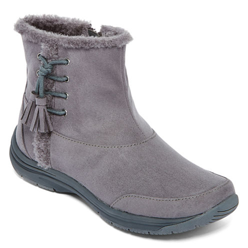 Zibu™ Lorda Faux-Fur Ankle Boots
