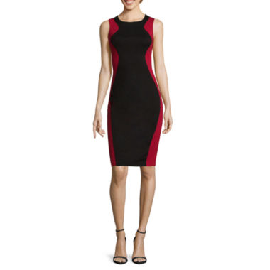 jcpenney.com | Bisou Bisou® Sleeveless Colorblock Dress