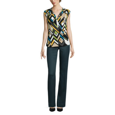jcpenney.com | Worthington® Surplice Top or Curvy-Fit Pants