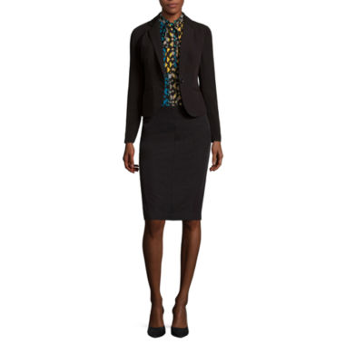 jcpenney.com | Worthington® Suiting Blazer, Sleeveless Tie-Neck Blouse or Pencil Skirt