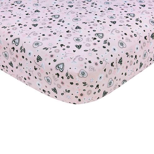 Crown Crafts Disney Crib Sheet