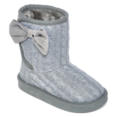 jcpenney.com | Okie Dokie® Maisy Girls Sweater Boots - Toddler