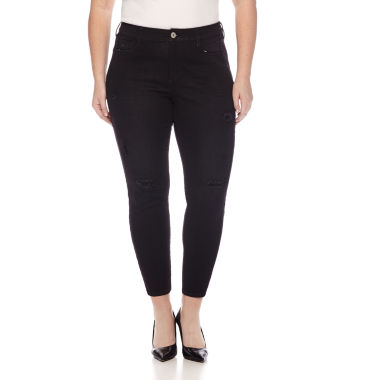jcpenney.com | Arizona Luxe Stretch High-Rise Jeggings - Juniors Plus