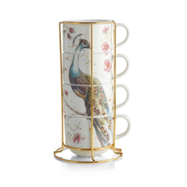 jcpenney.com | Peacock 5-pc. Coffee Mug
