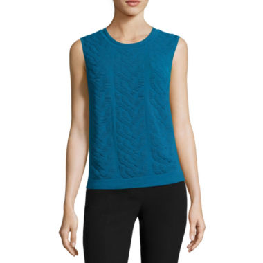jcpenney.com | Worthington® Sleeveless Pullover Sweater