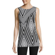 Worthington® Sleeveless Grommet Tunic