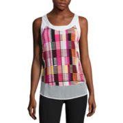 Worthington® Mixed Media Tank Top