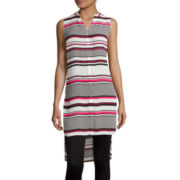 Worthington® Sleeveless Long Tunic