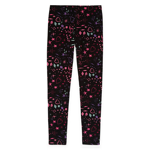 Total Girl Knit Leggings - Big Kid Girls