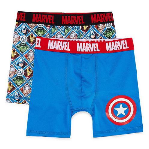 2-pc. Captain America Boxers Big Boy
