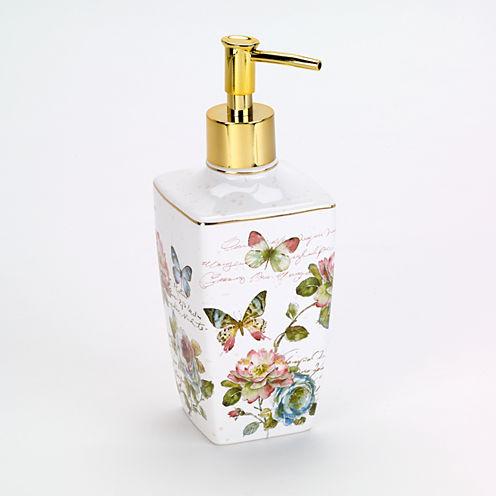 Avanti Butterfly Garden Soap Dispenser