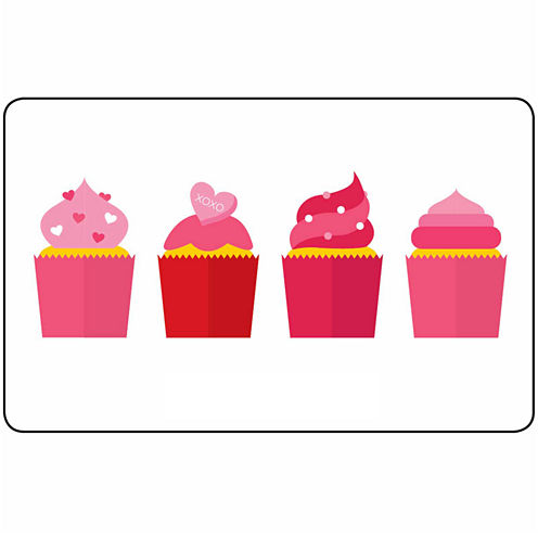 $10 Cupcakes Gift Card