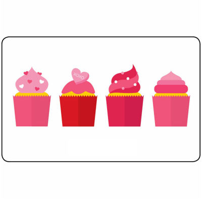 $50 Cupcakes Gift Card