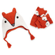 Little Maven™ by Tori Spelling Fox Hat and Glove Set - Boys