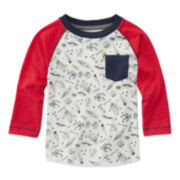 Arizona Long-Sleeve Knit Cotton Shirt - Baby Boys 3m-24m